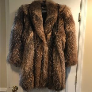 Genuine Raccoon coat by Diane Furs